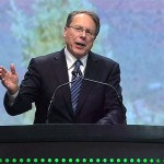 Wayne LaPierre responds to call for Universal Background Checks in Salt Lake City